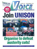 Voice - The MAgazine for UNISON members